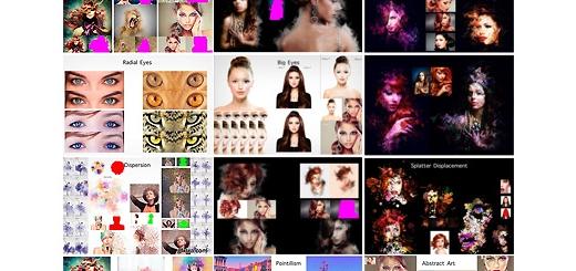 دانلود مجموعه بزرگ اکشن فتوشاپ ایجاد افکت های هنری متنوع بر روی تصاویر