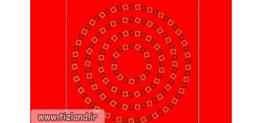 خطای دید دایره های تو در تو