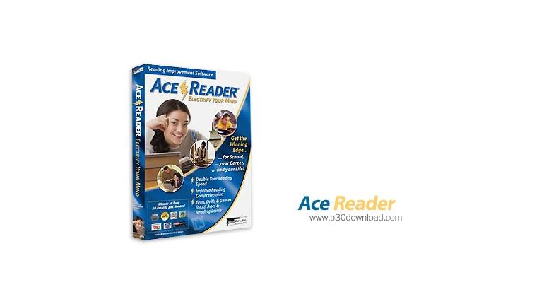 دانلود AceReader Pro/Pro Deluxe Plus v7.2.0 - نرم افزار تندخوانی و افزایش مهارت های چشمی در خواندن