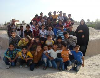 بازدید صدها تن دانش آموز از آثار تاریخی شهر جویم