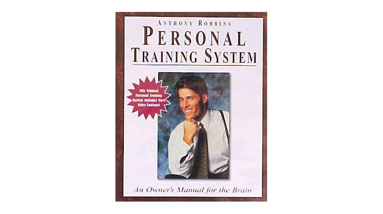 کتاب انگلیسی Personal Training System انتونی رابینز