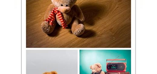 دانلود تصاویر با کیفیت خرس عروسکی، تدی خرسه