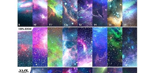 دانلود 16 تکسچر باکیفیت فضایی