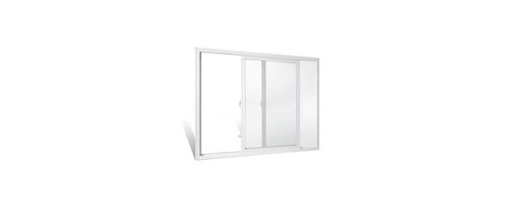 انواع در پنجره دو سه جداره upvc وین تک