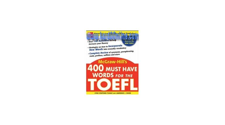 دانلود کتاب 400 Must Have Words For The TOEFL