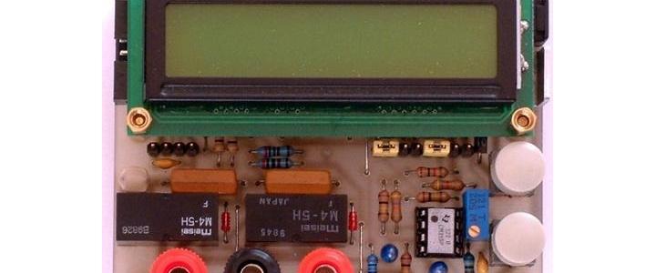 اندازه گیری ظرفیت خازن و سلف با AVR