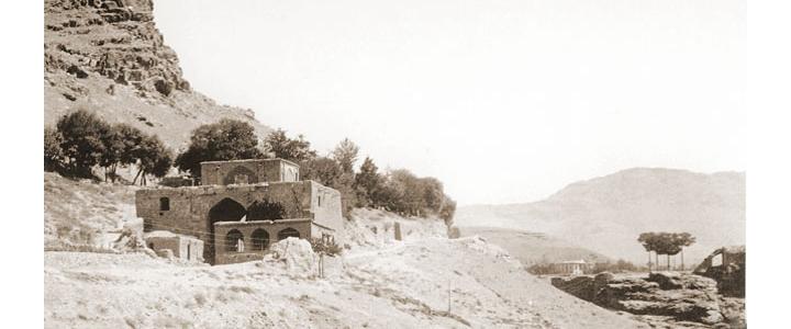 عکس قدیمی از دروازه قرآن شیراز