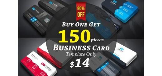 دانلود 150 کارت ویزیت لایه باز متنوع