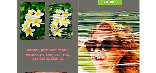 دانلود اکشن فتوشاپ ایجاد افکت هنری کاغذ رنده شده بر روی تصاویر
