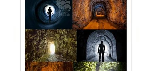 دانلود تصاویر با کیفیت تونل، تونل وحشت، تونل قطار، تونل سرسبز و ...