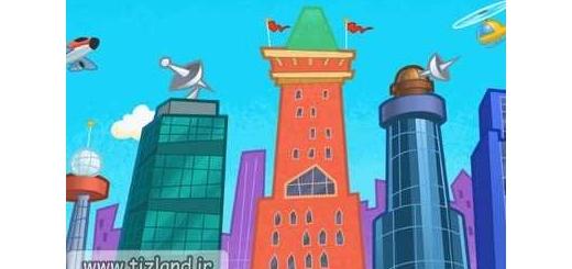 تعداد ساختمان های شهر