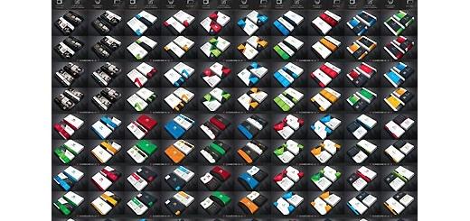 دانلود 122 قالب لایه باز کارت ویزیت با طرح و رنگ های متنوع