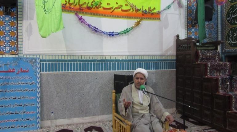 جشن نیمه شعبان درمسجد امام خمینی (ره)