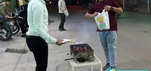 پخش شیرینی به مناسبت ولادت حضرت زینب(س) - 3 بهمن 96