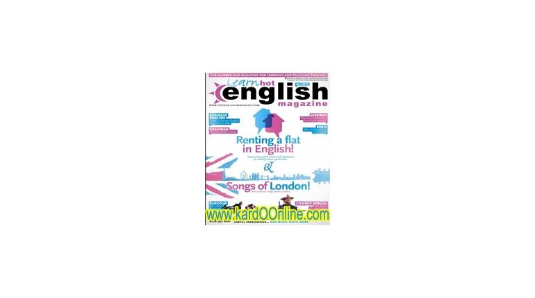 دانلود مجله آموزش انگلیسیHot English Magazine No.136