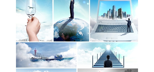 دانلود مجموعه تصاویر لایه باز تجارت - بخش اول دی وی دی 6