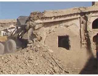 تخریب منقل خانه ها در شهر جویم