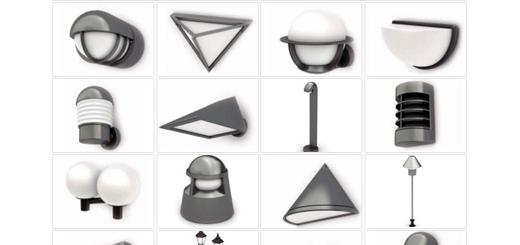 دانلود مدل های آماده سه بعدی آرچ مدل - چراغ برق، دیوارکوب، لامپ، لوستر و ... - شماره 14