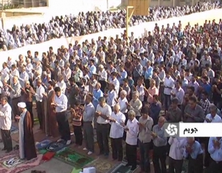 برگزاری نماز عید فطر در جویم