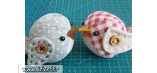 چگونه پرنده پارچه ای بسازیم
