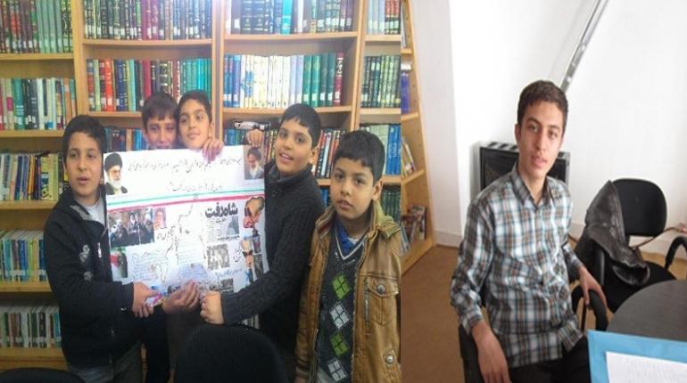 کسب مقام توسط اعضای کانون در مسابقات جام دیجیتال و روزنامه دیواری در مرحله شهرستان