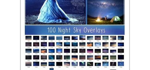 دانلود 100 تصویر بک گراند آماده آسمان شب مناسب عکاسان