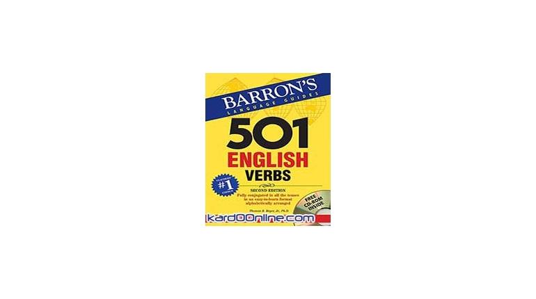 دانلود Barron's 501 English Verbs نرم افزارآموزش و تمرین افعال انگلیسی