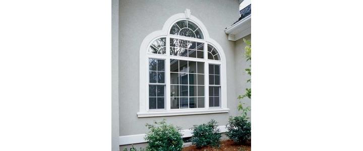 پنجره دوجداره قوس دار ویستابست