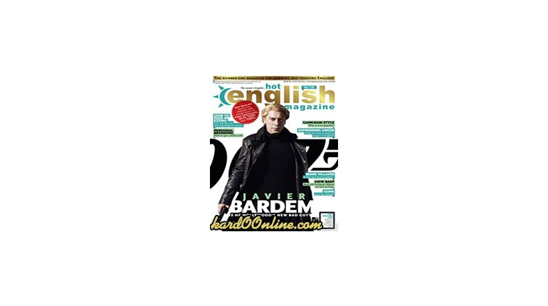 دانلود مجله آموزش انگلیسی Hot English Magazine No.130