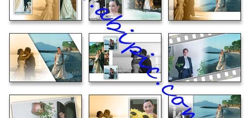 دانلود فون لایه باز PSD آلبوم عروس و داماد
