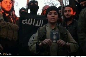 نوجوان داعشی تهدید به ذبح پادشاه اردن کرد + عکس