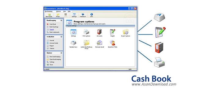 دانلود Softwarenetz Cash book v2.27 - نرم افزار حسابداری و مدیریت حسابهای روزانه