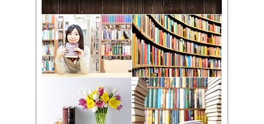 دانلود تصاویر با کیفیت کتاب، قفسه کتاب، کتابخانه