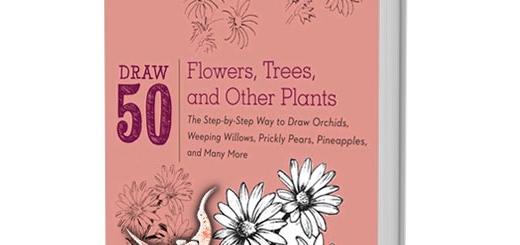 دانلود کتاب آموزش نقاشی ۵۰ نوع گل مختلف