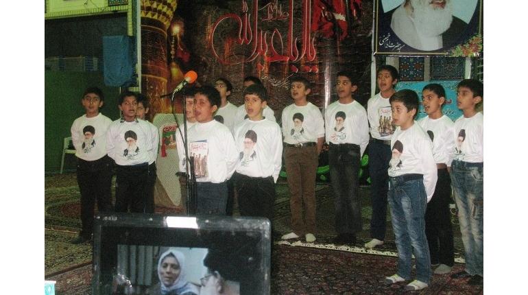 تصاویری از اعضای گروه سرود کانون فرهنگی هنری شهید ترابی