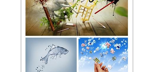 دانلود تصاویر مفهومی و خلاقانه سه بعدی