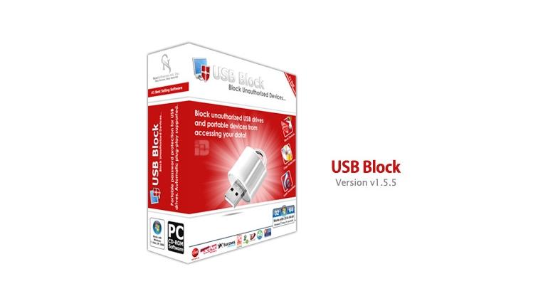 دانلود رایگان نرم افزار بلاک کردن پورت یو اس بی USB Block v1.5.5