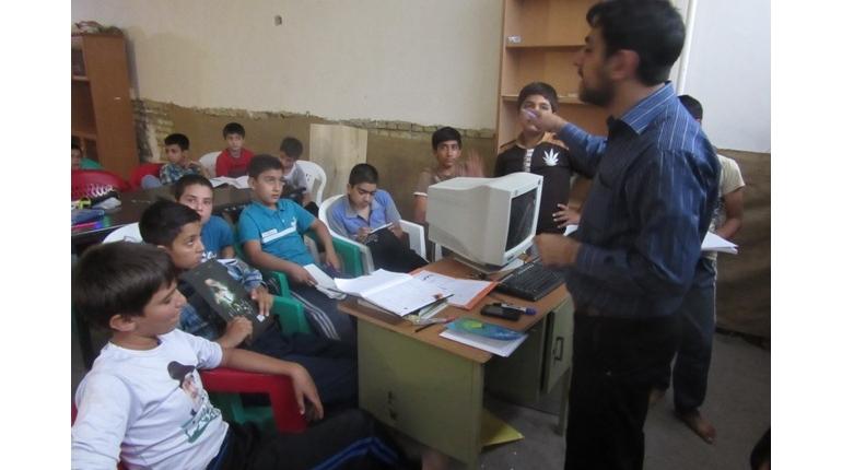 گزارش تصویری کلاس احکام و روخوانی قرآن