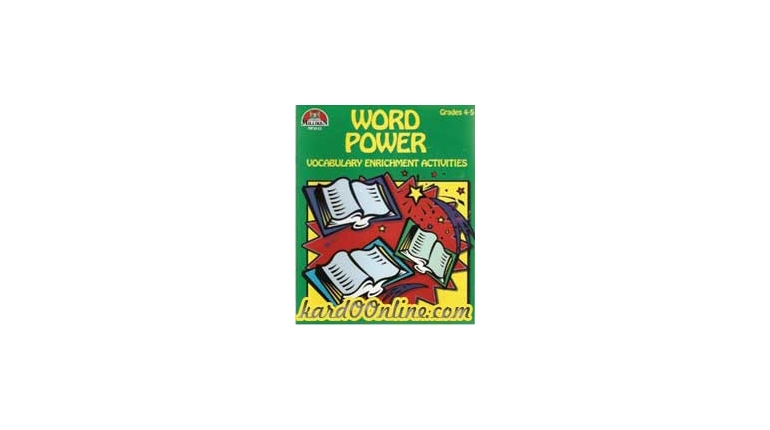 Word Power: Vocabulary Enrichment Activities, Grades 2-7