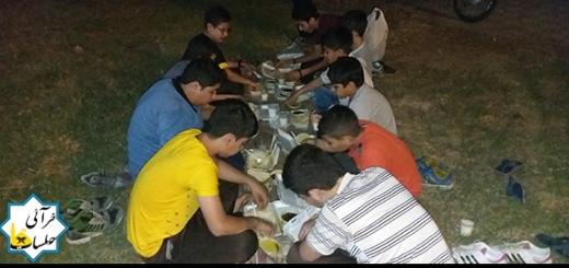 افطاری 16رمضان 31 خرداد 96