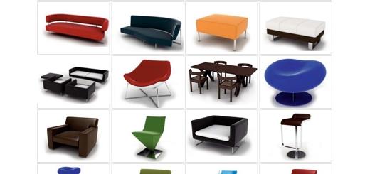 دانلود مدل های آماده سه بعدی آرچ مدل - مبلمان مدرن، صندلی، میز، مبل و ... - شماره 16