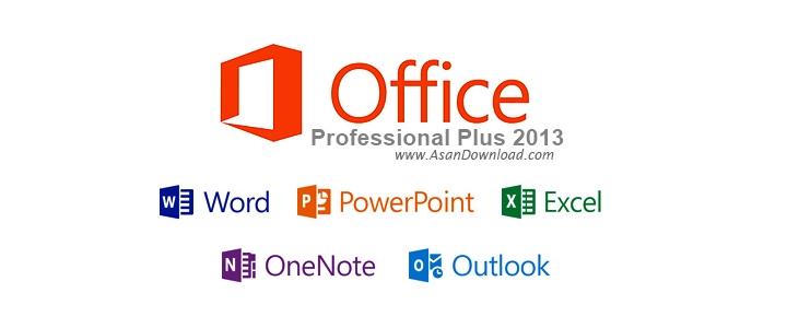 دانلود Microsoft Office Professional Plus 2013 x86/x64 - نرم افزار مایکروسافت آفیس