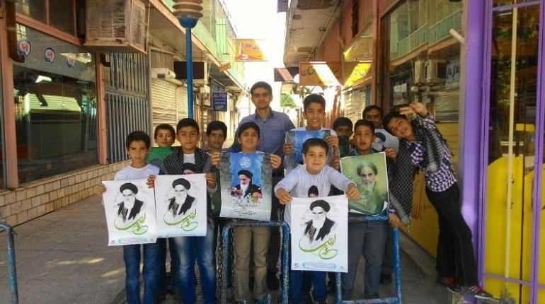 گزارش تصویری حضوراعضای کانون در مراسم رحلت امام خمینی(ره)