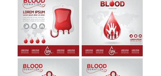 دانلود تصاویر وکتور اهدای خون