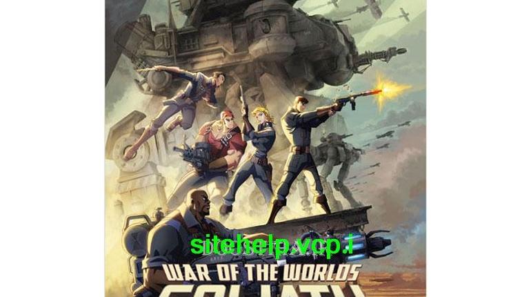 دانلود رایگان انیمیشن زیبای War of The Worlds: Goliath 2012