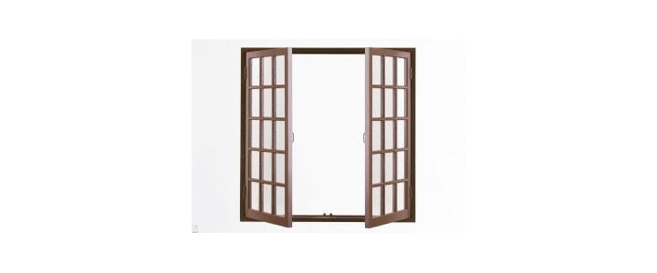 شرکت انواع مختلف بازشو در پنجره دو سه جداره