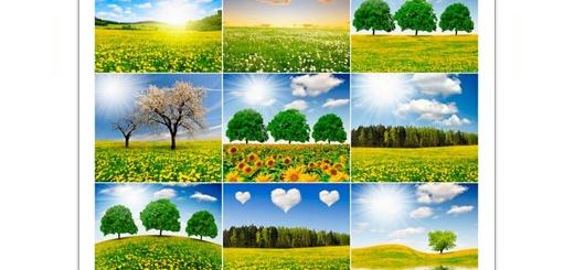 دانلود تصاویر با کیفیت مناظر زیبای بهار