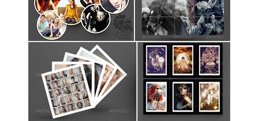دانلود مجموعه تصاویر لایه باز 15 قالب عکس یا فریم در 1 پک
