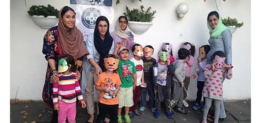 اجرای برنامه آموزشی آشنایی با حیوانات در مهد کودک بادبادک