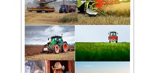 دانلود تصاویر با کیفیت تراکتور مزرعه و برداشت محصولات کشاورزی